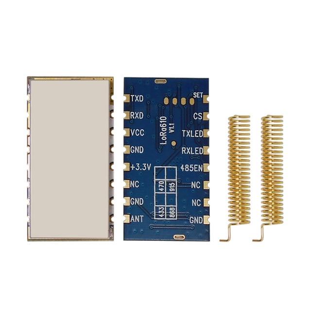 2016 Новый запущенный 2 шт./лот Lora610-20dBm sx1278 Лора Модуль приемопередатчика, long range 6 ~ 8 Км 433 МГц передачи данных mdoule