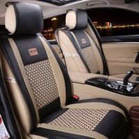 New High Quality Universal Car 5 Seats Covers 10pcs For Crossovers Sedans Auto Interior Styling Decoration