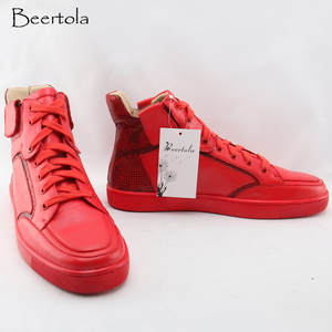 Top 10 Red And Back Shoes Men List