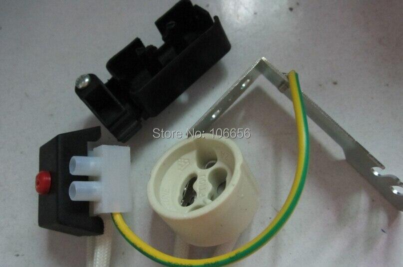 Gu10 sockel basis Anschluss Keramik Lampenfassung verdrahtung für ...