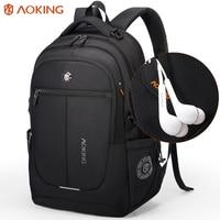 Aoking Brand Unisex Urban Backpack Men Light Slim Minimalist Fashion Backpack Women 14 15inch Laptop Backpack