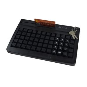 Image 5 - Clavier, 60 touches programmables pour système POS, 3 pistes en option, KB60 MSR, haute qualité