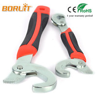 2Pcs Multi Function Universal Quick Snap And Grip 9 32mm Adjusable Wrench Spanner Practital Hand Tool