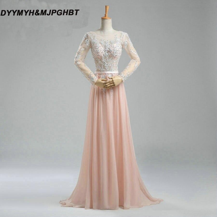 Ilgi rankovių suknelės su brangiu viršumi ir atvirą - Ypatinga proga suknelės