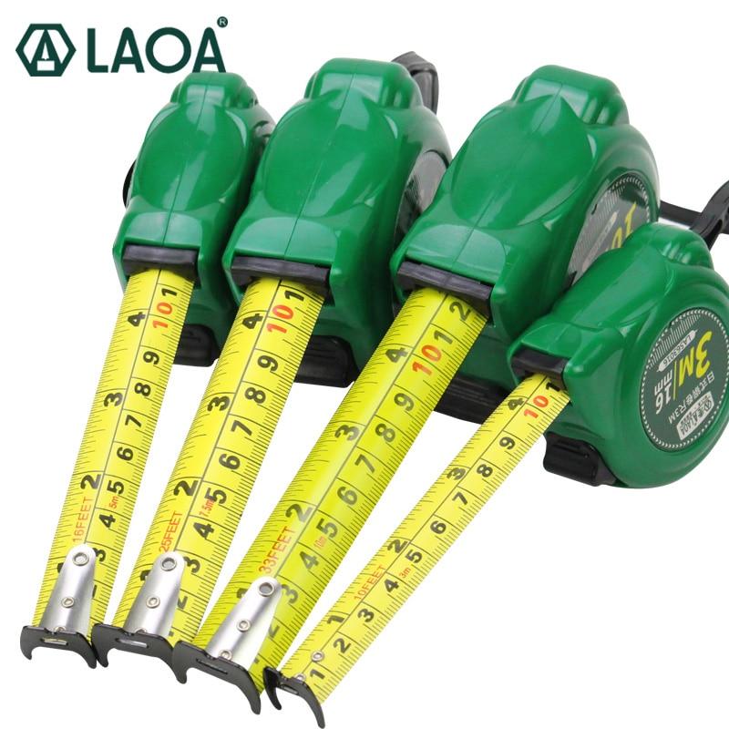 Messung Und Analyse Instrumente Laoa Japan Typ 3 Mt/5 Mt/7,5 Mt/10 Mt Tapeline Doppel Seite Stahl Maßband Messen Werkzeuge Jahre Lang StöRungsfreien Service GewäHrleisten