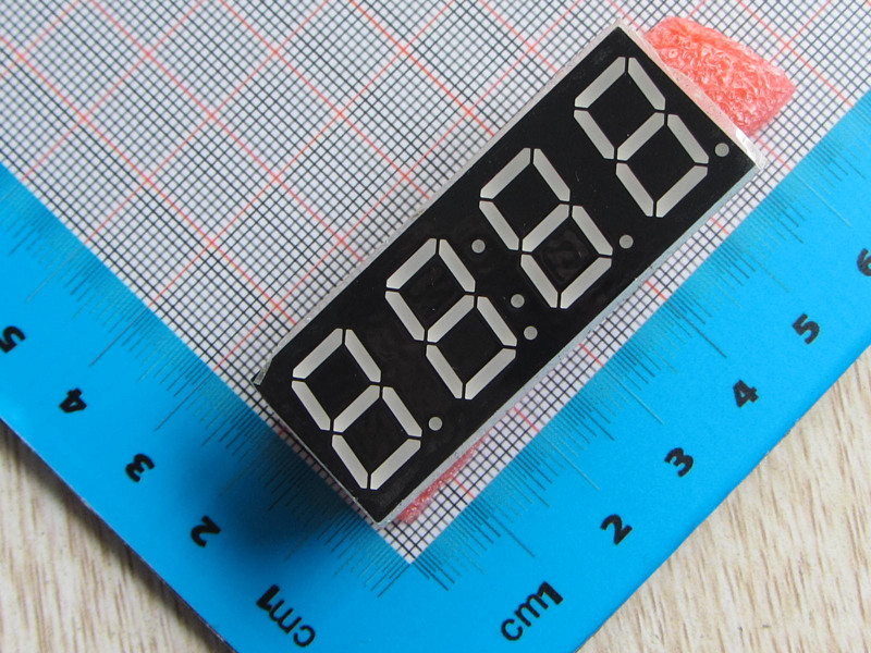 1pc Digital Electronic Clock Electronic Clock SCM Combo 4 0.56 DS1302 Clock Module