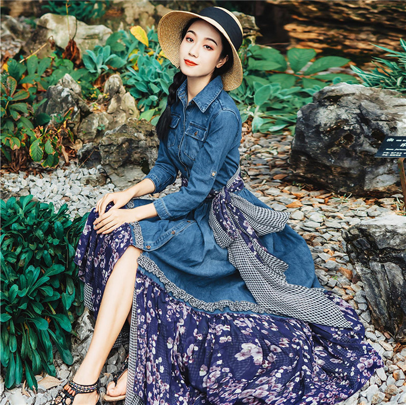 새로운 고품질 폭발 레저 우아한 draped 드레스 여성 봄 여름 캐주얼 셔츠 드레스-에서드레스부터 여성 의류 의  그룹 1