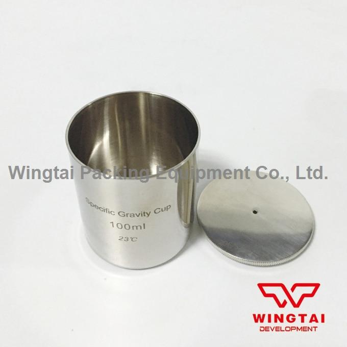 Stainless Steel Density Cup 100ml Capacity Specific Gravity Cup high quality 37ml stainless steel density specific gravity cups with din 53217 iso 2811 and bs 3900 a19 standard