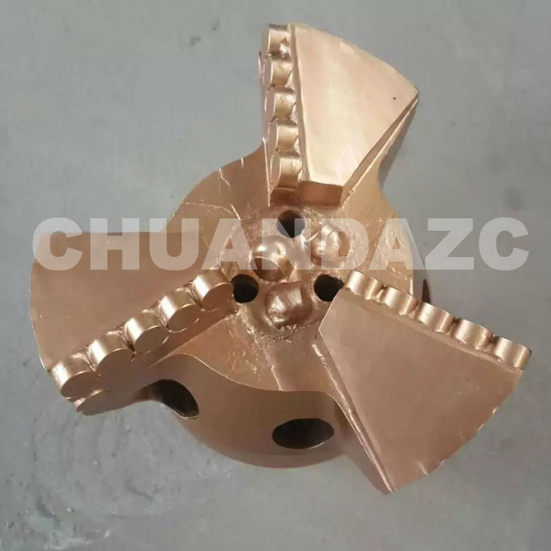 3  blades PDC bit/ drilling PDC drag bit/ coal mining bit size 190mm 7 1/2inch supply chain constraints in the south african coal mining industry