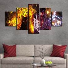 Artsailing 5 piece painting dragon ball anime poster and Print 5 panel canvas art Modular Frames Living Room artwork F2584(China)