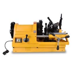 Neue Ankunft SQ100D1 1/2 -4 Elektrische Rohr Einfädler, 4 zoll Rohr Diehead Threading Maschine 220v / 380v 50HZ / 60HZ 750W 24 / 10RPM