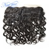 New Star Hair Brazilian Natural Wave 13x4 Lace Frontal Virgin Human Hair Free Part Medium Brown Swiss Lace Bleached Knots