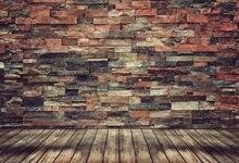Laeacco Tijolo Parede Backdrops Para Estúdio de Fotografia Fotografia Fundos Fotográficos Personalizados