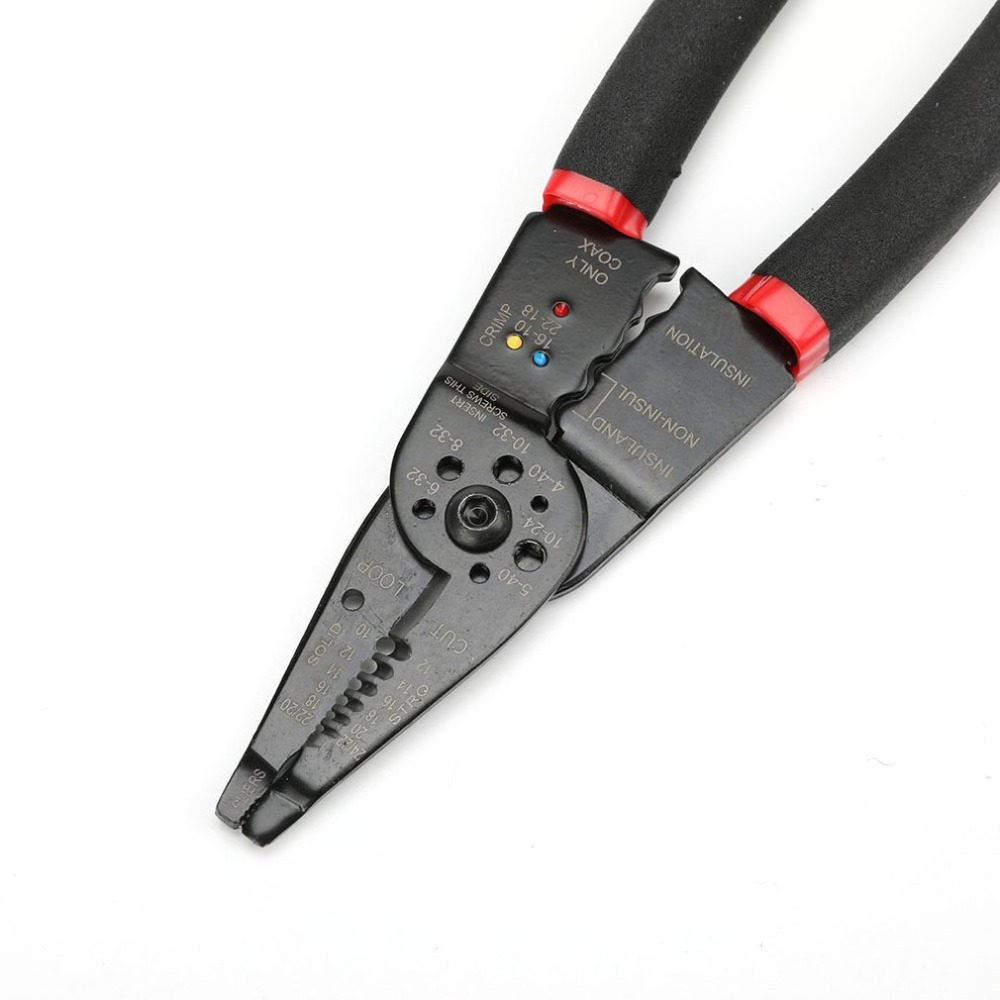 7 In 1 Multi-functional Automatic Cable Wire Stripper Crimper Crimping Cutting Plier Stripping Terminal Hand Tool Durable Use