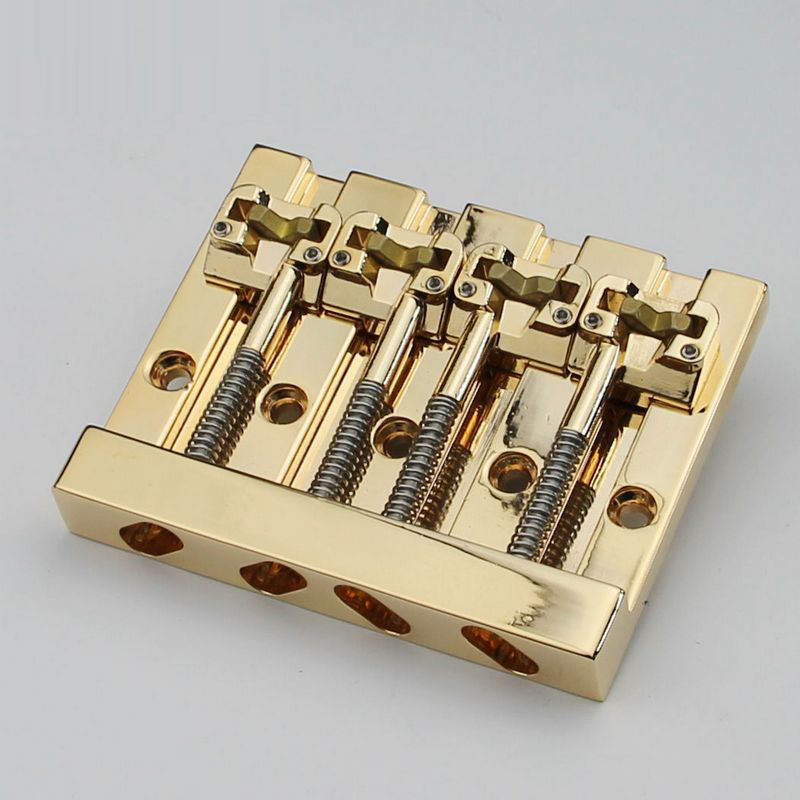 NEW Hipshot KickAss Bass Bridge 4-String Retrofits Badass Bass - Gold buy string bass