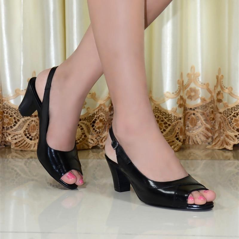 ФОТО Sandals,women sandals,shoes,women shoes, for women sandals ladies sandals heel women genuine stylesandals shoes 818-10
