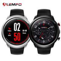 LEMFO LEF2 Android 5.1 Smart Watch Phone 3G WIFI GPS Two Modes MTK6580 Quad Core 512MB+ 8GB Smartwatch Heart Rate Monitor