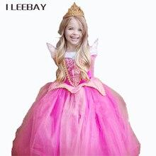 Enfants Parti Fantaisie Tulle Robe Pour Les Filles Cadeau De Noël Fée Princesse Robe Sleeping Beauty Aurora Robe Halloween Cosplay Costume