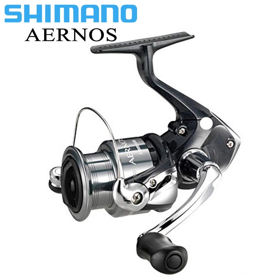 SHIMANO AERNOS 2500/C3000 Spinning Fishing Reel 2+1BB Aluminum Spool 4kg Max Drag