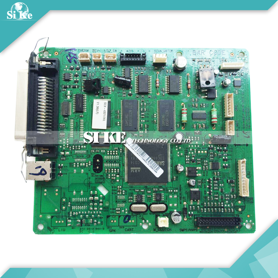 Laser Printer Main Board For Samsung SCX-4321 SCX4321 SCX 4321 Formatter Board Mainboard Logic Board