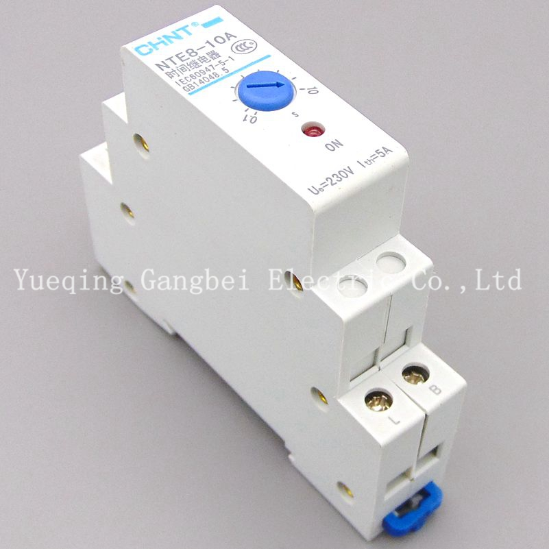 Time relay NTE8-10A 10S NTE8-120A 120S NTE8-480A 480S power failure delay AC230V. aa05a 048l 120s