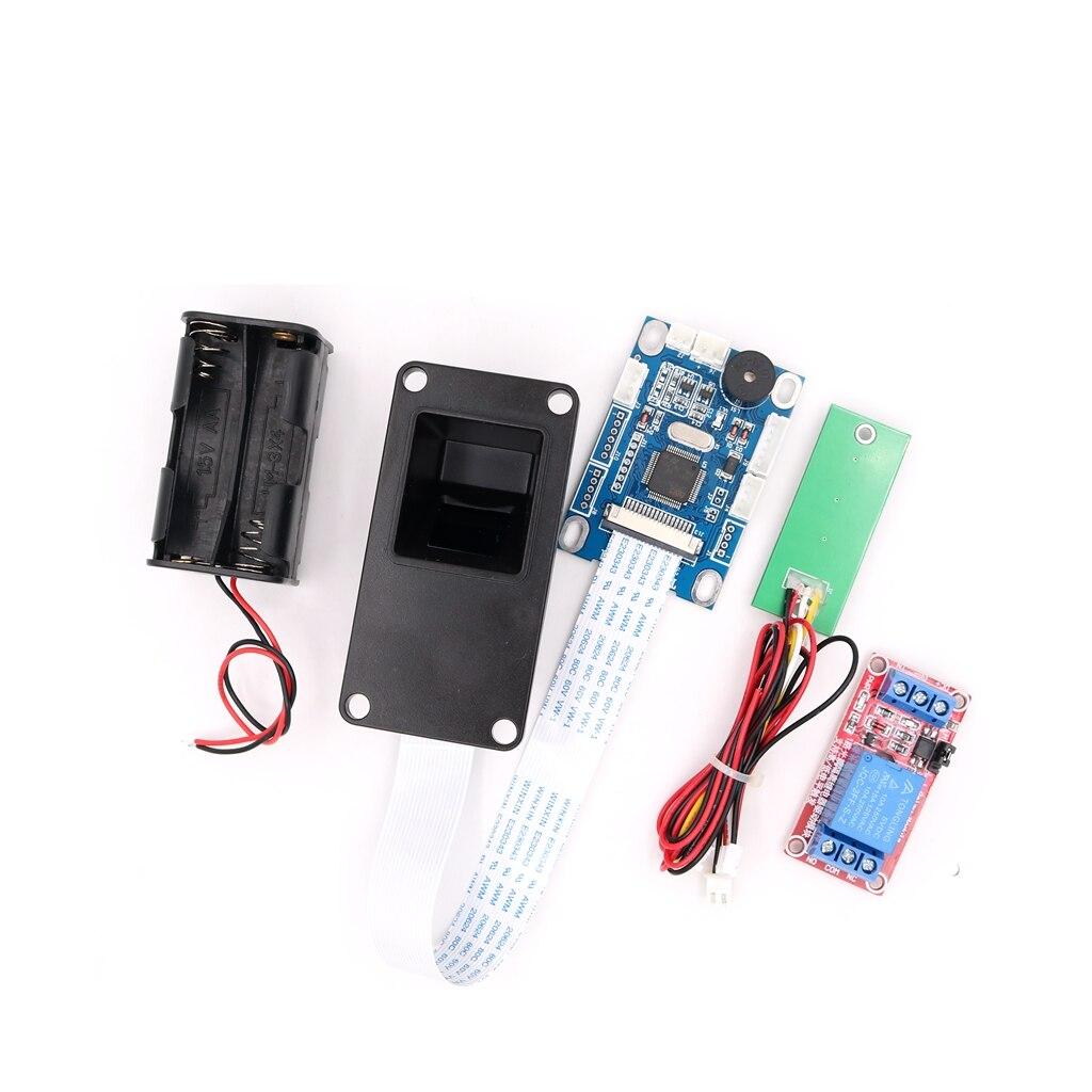 DIY 5V Biometric Fingerprint Relay Output Car Ignition Elevator Device Control Fingerprint Lock Door Access Control
