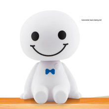 цены Car Ornament Cartoon Plastic Baymax Robot Shaking Head Figure Car Decorations Auto Interior Accessories Big Hero Doll Toys Gift