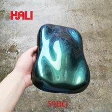 Пигмент хамелеон, пудра хамелеон, меняющая цвет пудра, товар: 59BG, цвет: сине-зеленый, вес: 10 грамм, широко используется в красках, чернилах, ногтях