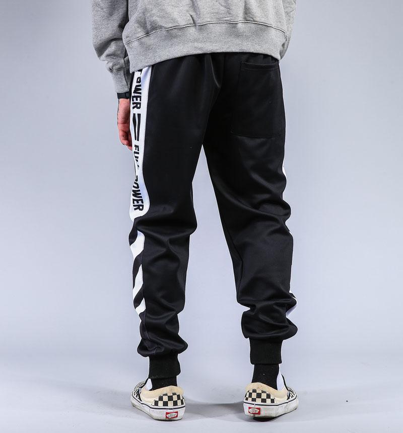 Striped Patchwork Harem Pants 3