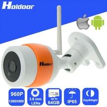 Мини Беспроводная Ip-камера с 960 P 1,3-МЕГАПИКСЕЛЬНОЙ CMOS 3.6 мм Объектив HD Ик Ночного Видения видеонаблюдения видео системы видеонаблюдения
