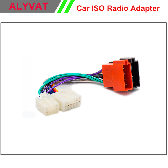 Car ISO Stereo Wiring Harness For Toyota Lexus Daihatsu Adapter ...