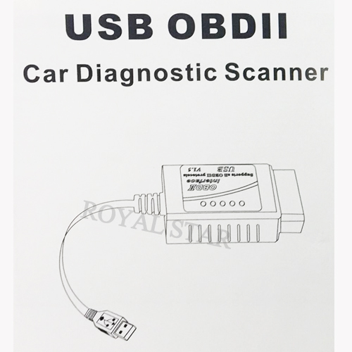 USB ELM 327 V1.5 Scanner OBD2 Schnittstelle ELM327 USB CAN-BUS Diagnose-Tool Usb To Obd Ii Wiring Diagram on