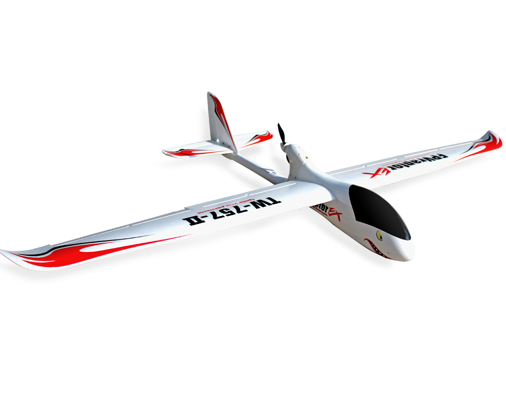 Volantex FPV Raptor 2M RC KIT Glidler Plane Model W/O Motor Servo ESC Battery volantex asw28 2 6m rc kit plane model w o brushless motor servo 30a esc battery