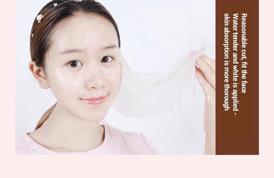 MEIKING 60PCS Skin Care DIY Facial Face Compressed Mask Women Beauty DIY Disposable Mask Paper Natural Skin Care Wrapped Masks 13