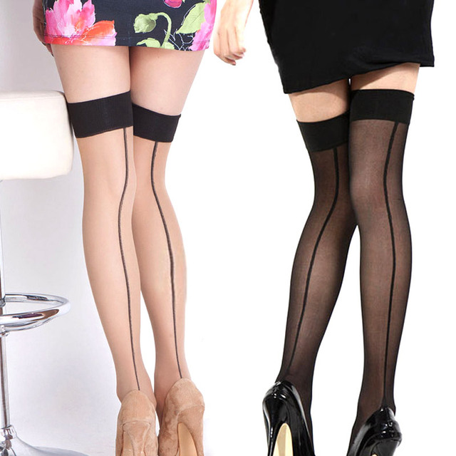 0db64cd7c06 Summer Women Thigh High Stocking Over The knee Socks Sexy Hosiery Stay Up  Stockings 99 JL-in Stockings from Underwear   Sleepwears on Aliexpress.com  ...