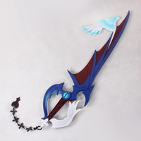 ProCosplay Kingdom Hearts Riku Cosplay weapon Keyblade halloween Costume prop eagle wing mp002489