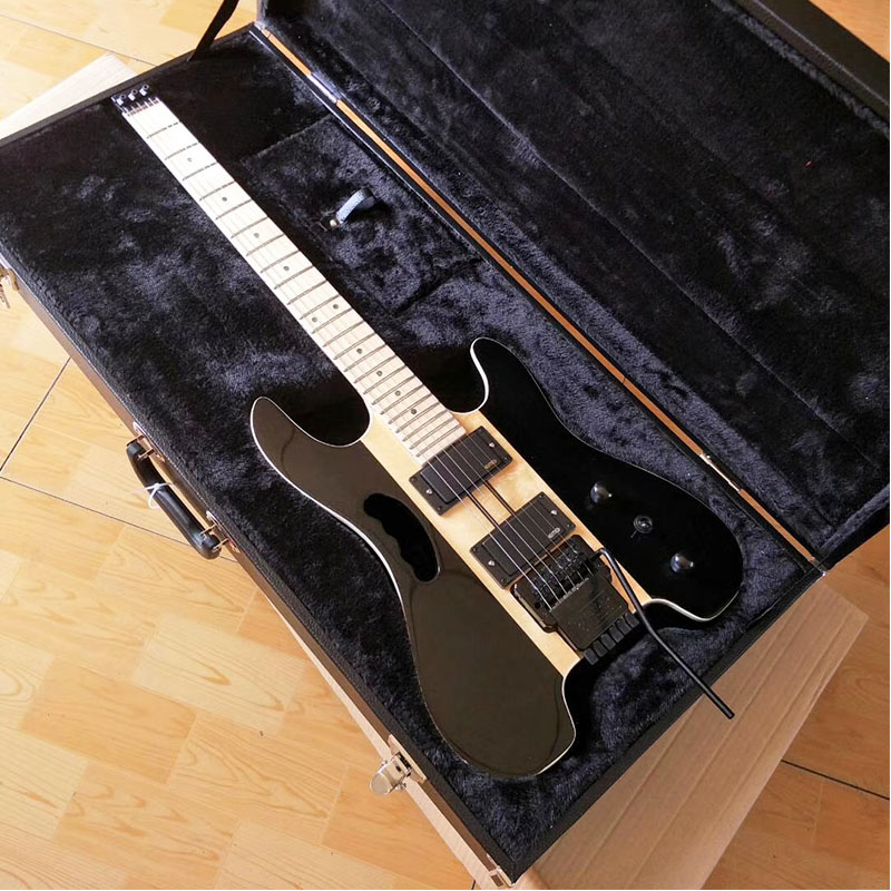 Tout-en-un, Steinberg Au-delà Huang Guanzhong Sans Tête Guitare Électrique Portable Voyage Guitare Personnalisable