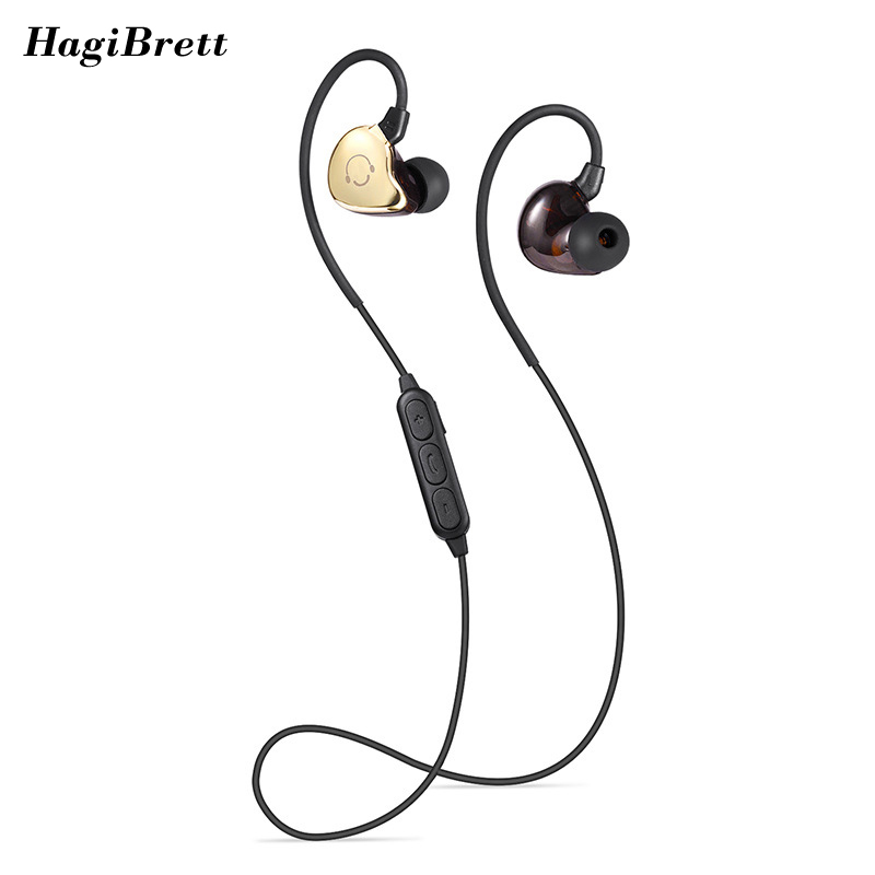 Sport Wireless Earphones In-Ear Bluetooth Headphones Ear Hook Neckband Bass Earbuds Handsfree Running in ear Waterproof DJ ep05F