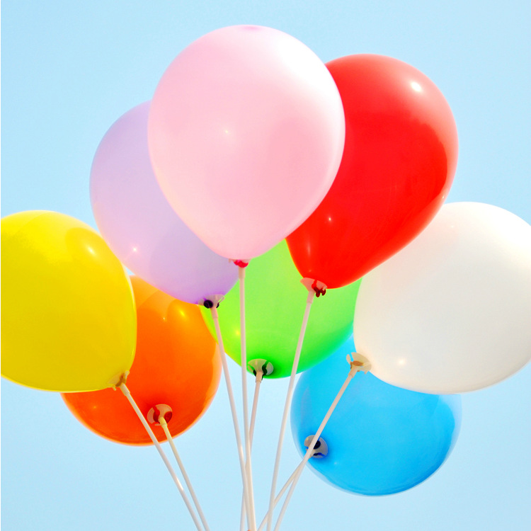 Hot Sell 10inch1.5g Latex Balloon Helium Round Balloons Thick Pearl Balloons Wedding Party Birthday Balloons 100pcs/lot