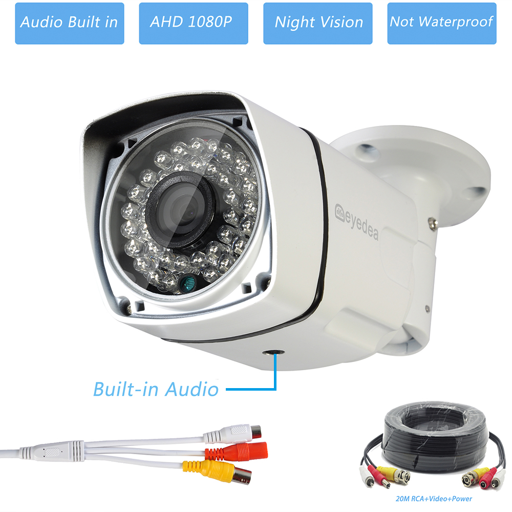 4 channel security system A9W2-AUDIO