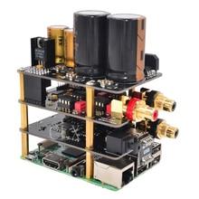 Raspberry Pi Kit X10 Hifi аудио комплект-B X10 ЦАП Плата расширения+ X10-PWR блок питания+ X10-I2S плата+ X10-RTR R-CORE