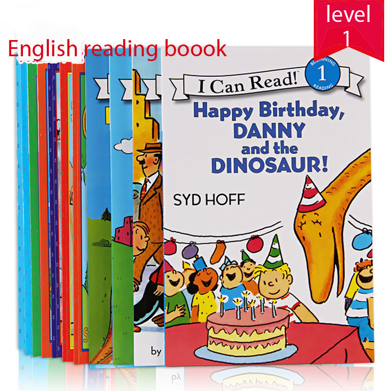 Us 60 44 7 Off 12 Books Set Danny And The Dinosaur I Can Read Level 1 English Picture Story Book Children Kids Student Early Education Gift On
