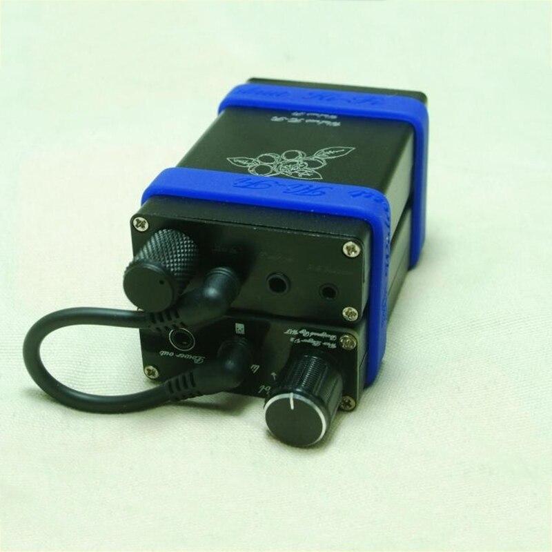 Walnut HiFi F1 Portable Headphone Amplifier Audiophile Amplifier OPA2134 Optional 2.5mm Balanced Output