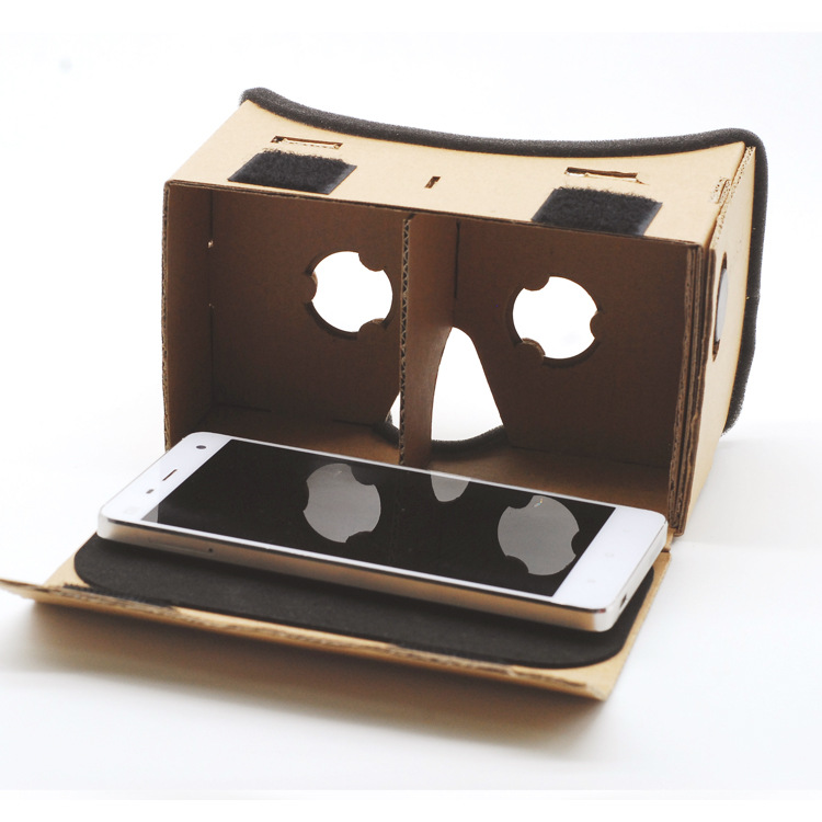 Virtual Reality Glasses Google Cardboard Glasses 3D Glasses VR Box Movies for iPhone 5 6 7 SmartPhones VR Headset For Xiaomi hot 2018 original shinecon vr google cardboard vr box with headphone vr virtual reality 3d glasses for 4 7 6 0 inch phone