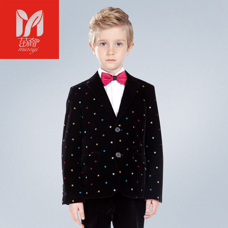 Velvet children's leisure clothing sets kids baby boy suits Blazers vest gentleman clothes for weddings formal clothing 2016 new arrival fashion baby boys kids blazers boy suit for weddings prom formal wine red white dress wedding boy suits