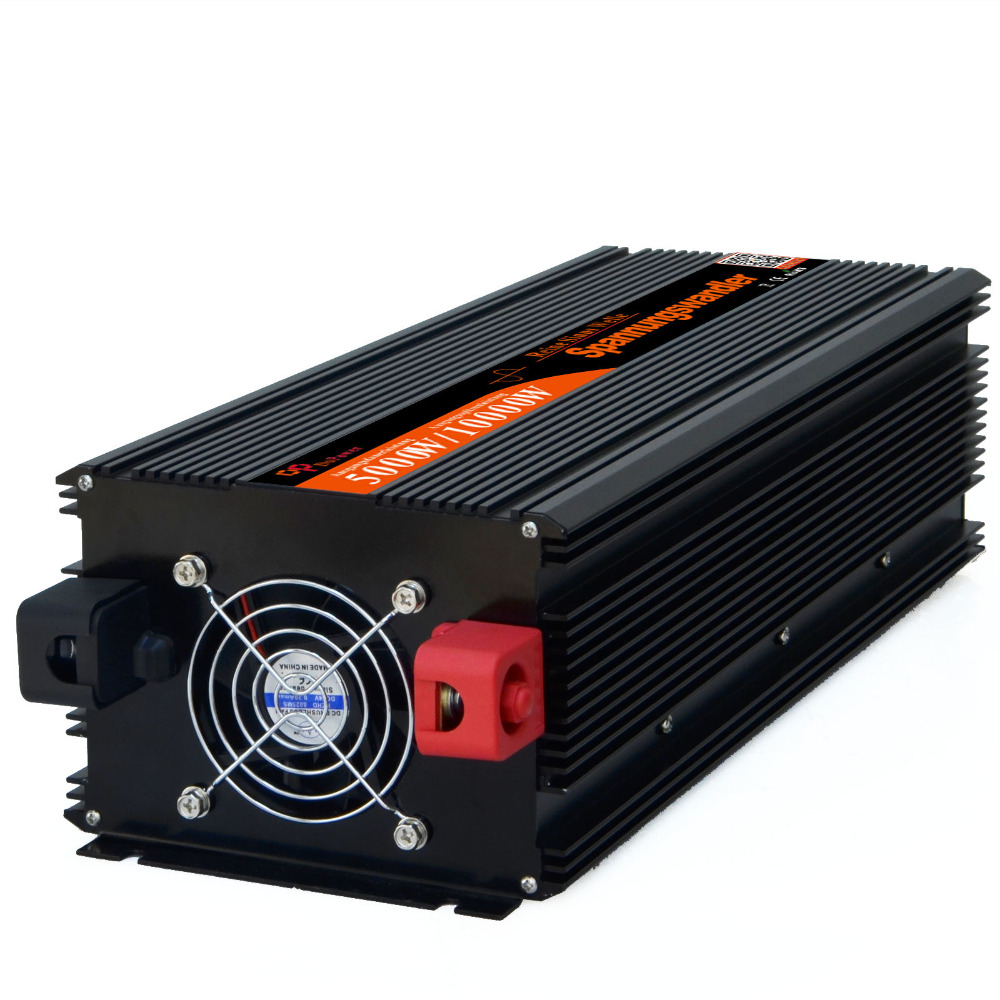 цена на power Inverter 5000W DC 24V AC 220V 230V pure sine wave Peak power 10000W