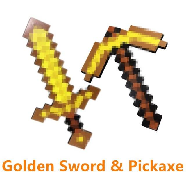Online Shop Minecraft Spielzeug Schaum Diamant Schwert Axt Schaufel