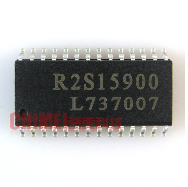 r2s15900 audio processing chip sop 28 lcd tv audio processing chip