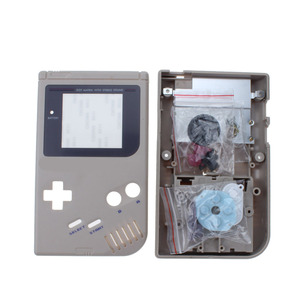 Image 4 - 14 couleurs disponibles jeu coque de remplacement coque en plastique couverture pour Nintendo GB pour Gameboy classique boîtier de Console