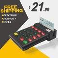 Frete Grátis! RD-700 USB Leitor de Cartão com 2 Faixas MSR Leitor de cartão de Leitor De Cartão Magnético POS sistema POS